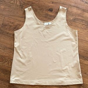 Chico's Camisole Tank Top Nude Tan Women's Size 3